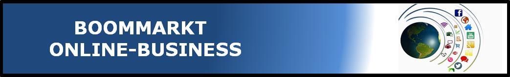 Boommarkt-Onlinebusiness